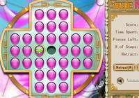 stratégie, tablette, billes, solitaire