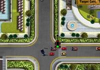 voiture, voiture en ville, circulation, feux rouges, véhicule, course en ville, signalisation