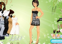 fille, relooking, stylisme, habillements, mode, habillage, dress up
