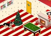 créativité, Noël, aménagement, décoration, fille