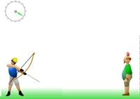 Tir, arc, flèche, archer, adresse, réflexe