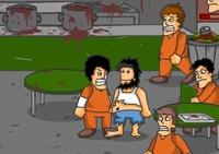 prison break, ombat, coups de poing, police, action, rigolo, défoulement