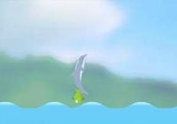 aquatique, dauphin