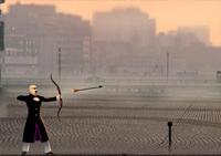Flèche, arc, archer, tir,  sport, archerie