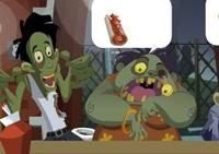 zombie, restaurant, fastfood, burger, gestion, serveur