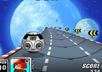 conduite, course, véhicule, pilotage, circuit, vaisseaux, astronef, planète, spatial, espace