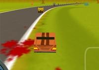 conduite, course, véhicule, pilotage, circuit, voiture, zombie