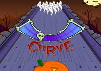 Halloween, bowling, strike, spare, carreaux, sport, balles