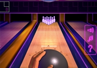Bowling, quilles, adresse, strike, spare, carreaux, sport, disco