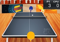 ping-pong, tennis de table, raquette, balle, sport,