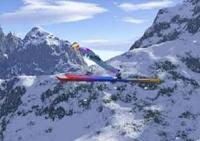 Ski, saut, big air, vol, planeur, sport, hiver, skieur, jump, saut en longueur