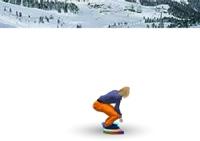 sport, snowboard, slalom, planche à neige, snow, snowboarding
