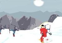 Slalom, ski, neige, hiver, sports, skieur,slalomeur