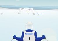 Slalom, ski, neige, hiver, sports, skieur, jeux olympiques, slalomeur, sportif