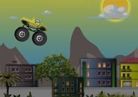 conduite, pilotage, course, monster truck, monster car, tout terrain, 4x4