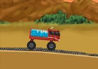 conduite, pilotage, course, camion, poids lourd, pompier, feux, incendie, citerne