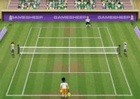 Tennis, raquette, balle, revers, match, sport, sportif, tennisman