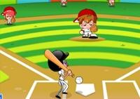 Baseball, manga, batteur, batte, sport, balle, home run, sportif