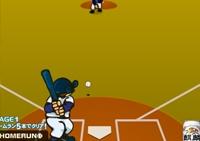 Baseball, manga, batteur, batte, sport, balle, home run, sportif, gant