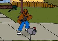 combat, bagarre de rue, vélo, police, matraque, poing, action, voyou