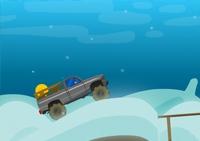 conduite, pilotage, course, camion, poids lourd