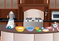 cuisine, gâteaux, pâtisseries, fille