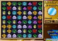 bejeweled, Gemmes , observation, série de trois, série de 3