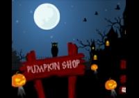 Halloween, gestion, citrouilles, sculpture, sorcières