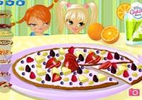 cuisine, dessert, pizza