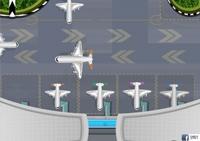 avion, aeroport, stationnement, aérien