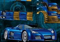 véhicule, voiture, tuning, carrosserie, piece, peinture