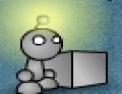 réflexion, robot,