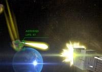 tirer, canon, extraterrestre, défense, astéroide, guerre spatiale, tir, vaisseau spatial