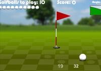 Golf, golfeur, club, trou, par, green, sport