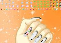 manucure, fille, beauté, ongles, nails