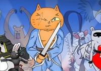 aventure, rôle, ninja, épée