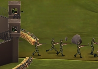 guerre, arme, bataille, armée, champ de bataille, guerrier, combattant, soldat, tower defense, defense de tour