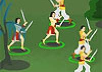 Combat, chevalier, stratégie, épées, arcs, flèches, boucliers, armes, armée, guerre, barbares, haches