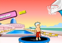 panier, basket, sport, adresse, basketball, ballon, dunk
