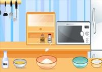 cuisine, fille, crêpes
