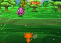 Tennis, balle, sport, tennisman, raquette,