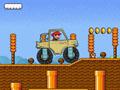 Conduite, pilotage, 4x4, saut, obstacles, plateforme, pilote, monster truck, Mario
