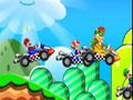 Rallye, course, karting, Mario, pilote, Yoshi, Mariokart, Mario-kart, Wario, Bowser,Peach, nintendo