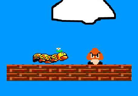 Mario, plateforme, Goomba,