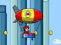 Mario, montgolfière, vol, plateforme, pilotage, ballon dirigeable, aérostat