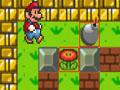 Mario, combat, arène, bombe, guerre, artillerie, armes