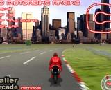course, moto, championnat, motard