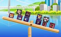 Sonic, hedgehog, séga, équilibre