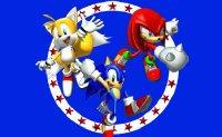Sonic, Tails, Knuckles, séga, tétris