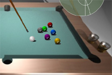 Billard, queue de billard, sport, adresse